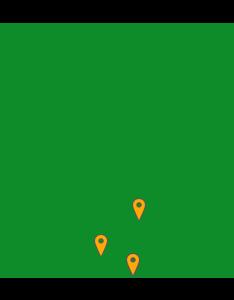 Moor Instruments Distribution Map - North America
