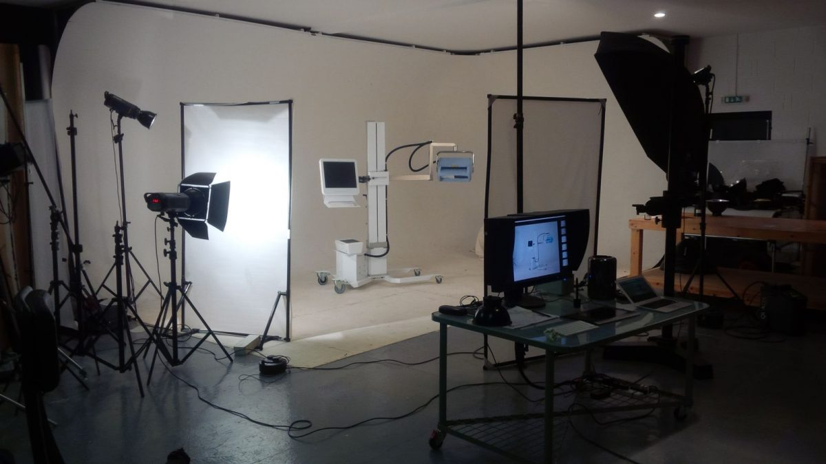 New improved mobile stand for the moorLDI2-BI imager